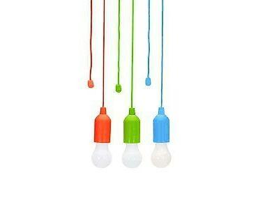 Handy LED Rainbow hordozható lámpaszett / erős fényű LED lámpa, 3 db/szett