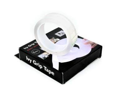 Kétoldalú rugalmas, átlátszó, újra felhasználható vízálló ragasztószalag 300 cm x 3 cm