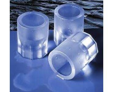 Jégpohár készítő forma szilikonból - 8 darabos