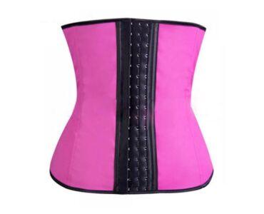 Karcsúsító alakformáló öv - Pink L-XL