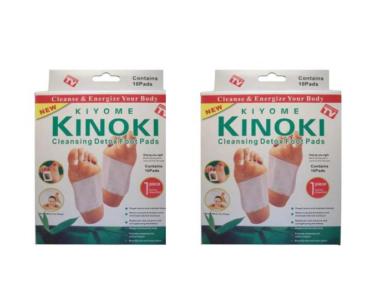 Kinoki méregtelenetíő tapasz 2 csomag (20 db)