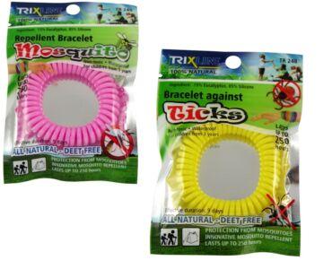 Trix Stop szilikon szúnyog-,kullancsriasztó karkötő