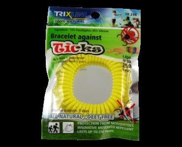 Trix Ticks szilikon kullancsriasztó karkötő