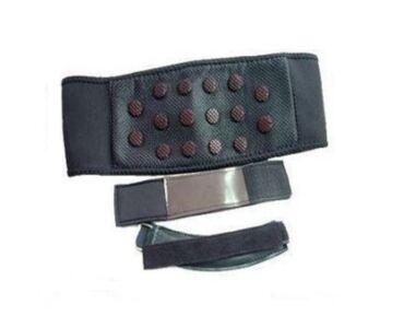 Mágneses derékvédő ajándék mágneses térd és mágneses csukló pánttal