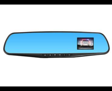 Autós visszapillantó tükörbe épített esemény rögzítő kamera - Panorámatükörbe
