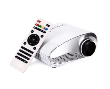 Multifunkciós Mini LCD LED projektor, kivetítő HD képminőség