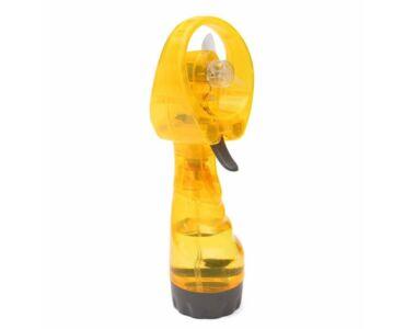 Hűsítő vízpára ventilátor - Sárga színben