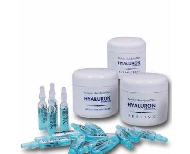 Hyaluron krémszett 18 részes- Bőrfeltöltés