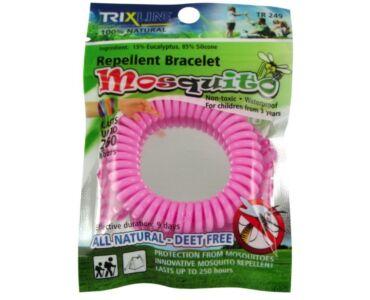 Trix Stop szilikon szúnyogriasztó karkötő