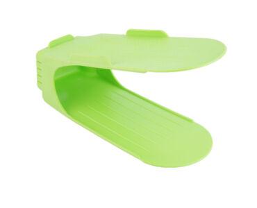 Praktikus helytakarékos cipőtároló - Zöld