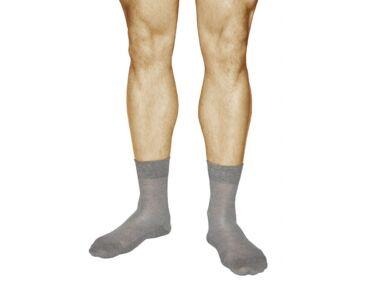 10 pár 95%-os Uniszex színes pamut zokni - 38-41-es férfi méret