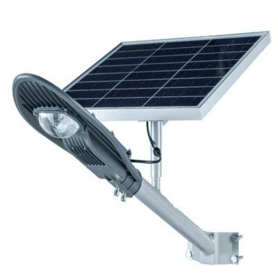 CClamp integrált napelemes LED reflektor távirányítóval - 20W