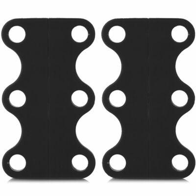 Mágneses cipőcsat - Fekete