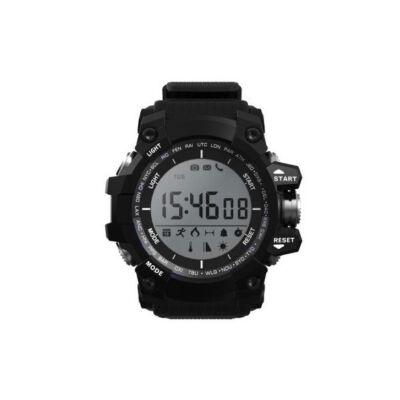 Merystyle@D Smart Watch okos óra fekete színben- Magyar nyelvű menüvel!