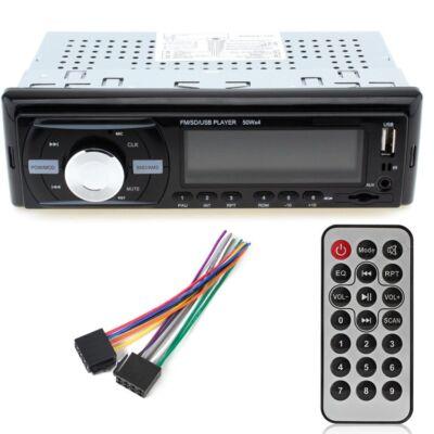 Merystyle@ Autórádió Bluetooth - MP3-USB - AUX - SD - FM