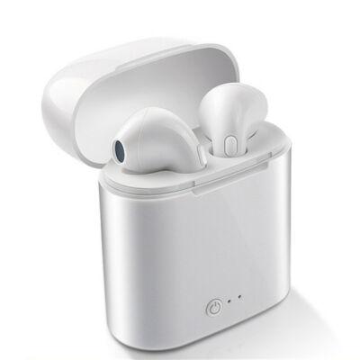 Merystyle-i7S TWS vezeték nélküli bluetooth headset-fülhallgató, töltőtokkal - Android/iOS