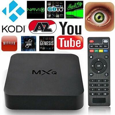 Android Tv Box - Youtube, Netflix alkalmazásokkal.-MXQ Smart TV Box