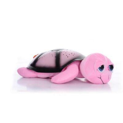 Világító, zenélő teknős - Rózsaszín