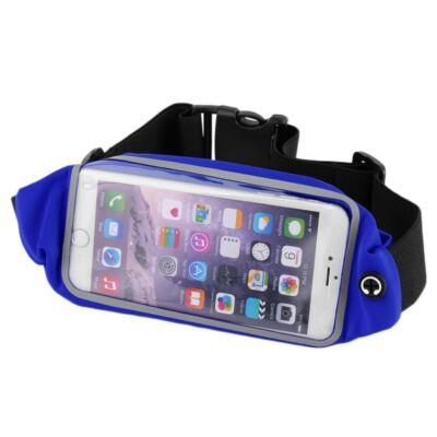 Univerzális telefontartó sportöv-kék