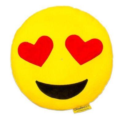 Love szivecske szemű Emoji Párna