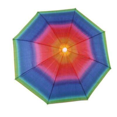 Esernyő - Napernyő kalap - Szivárvány színben