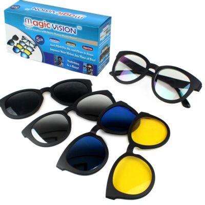 Magic Vision 5-in-1 mágneses napszemüveg
