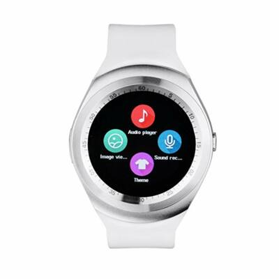 Merystyle-Y1 Smart watch android okosóra fehér színben magyar nyelvű menüvel