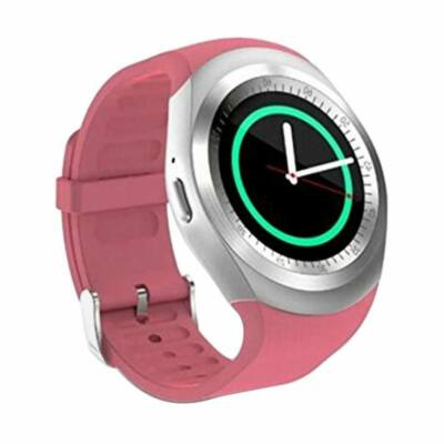 Merystyle-Y1 Smart watch android okosóra pink színben magyar nyelvű menüvel