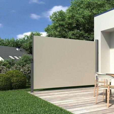 Kihúzható árnyékolófal 160 x 300 cm - pajzs nap és szél ellen