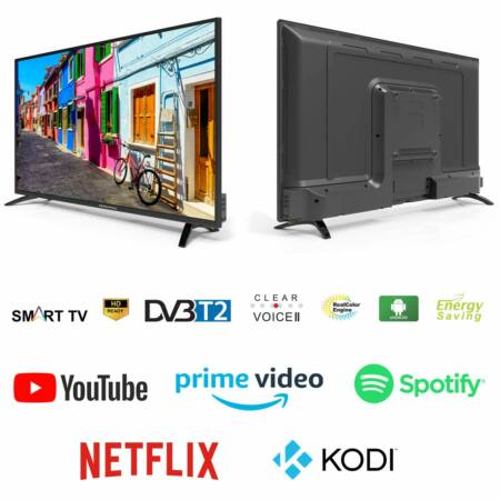"""Herenthal Slim Smart Led TV 40"""" 101 cm - Android Full HD DVB-T2"""