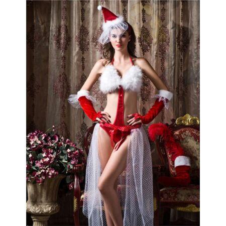 Szexi karácsonyi fehérnemű
