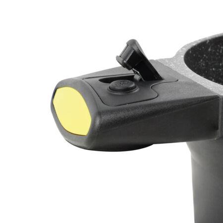 Casadelux Lábas lapos 28cm 3, 5lit. aluminium öntvény levehető nyéllel (CD1004)