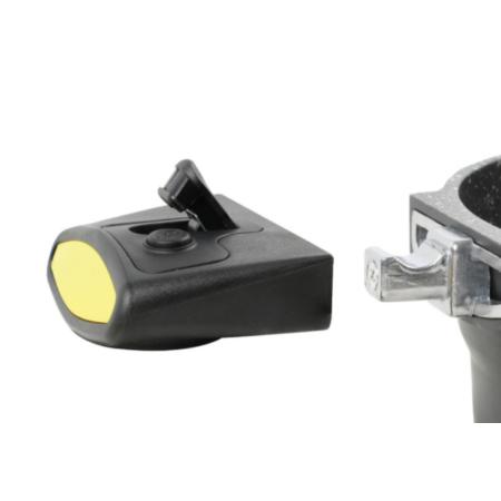 Casadelux lábas lapos 24 cm 4,5 lit. aluminium öntvény levehető nyélell (CD1002)