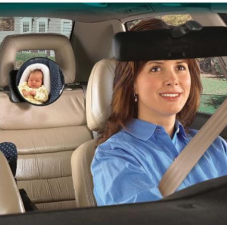 Diono 360°-ban forgatható gyermek megfigyelő tükör autóba - MS-189