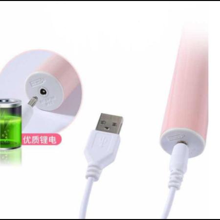 Elektromos fogkefe + 3 fej - Fehér-Pink színben