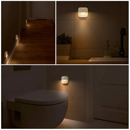 LED Éjjeli lámpa érzékelővel 2 db - MS-185