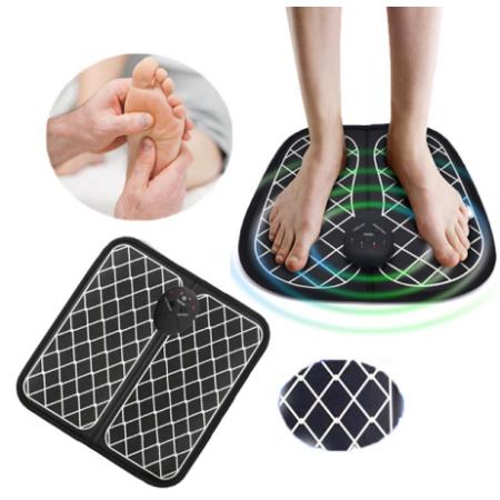 Elektromos lábmasszírozó szőnyeg, kockás