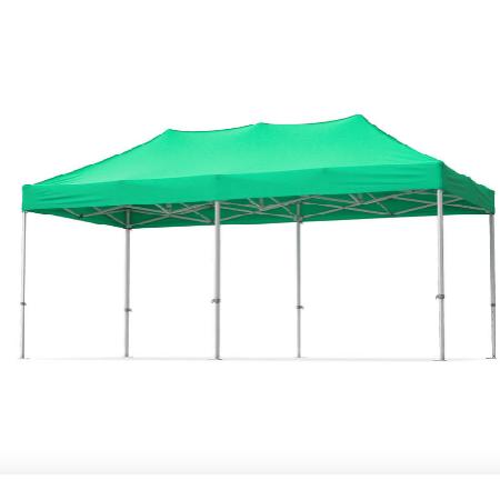 Szétnyitható kerti pavilon 6x3 méter - Zöld színben