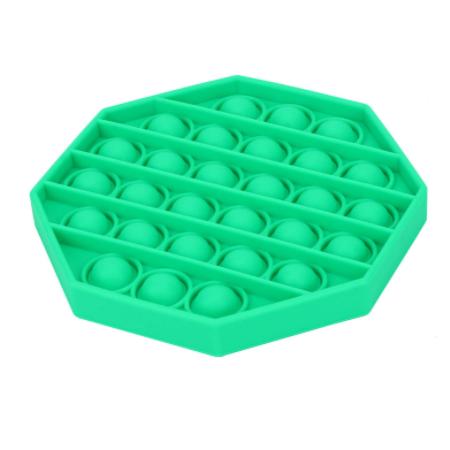 Pop it nyolcszög, zöld színben - MS-166