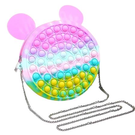 Pop it táska - Maci füllel - MS-290