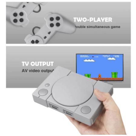 Retro videójáték konzol, beépített játékokkal - MS-186