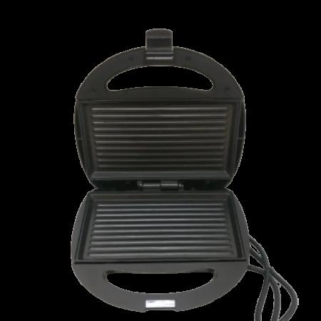 Royalty Line mini grill-és szendvicssütő - Ezüst színben