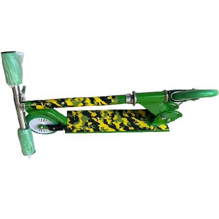 Összecsukható gyermek roller, zöld színben - MS-199