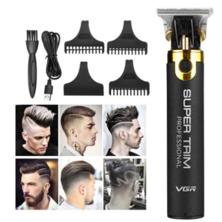 VGR Akkumulátoros haj-, szakállvágó trimmer - V082