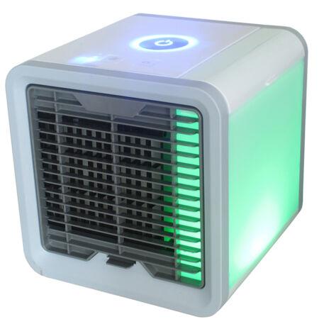 Air Cooler hordozható légkondicionáló készülék USB csatlakozással