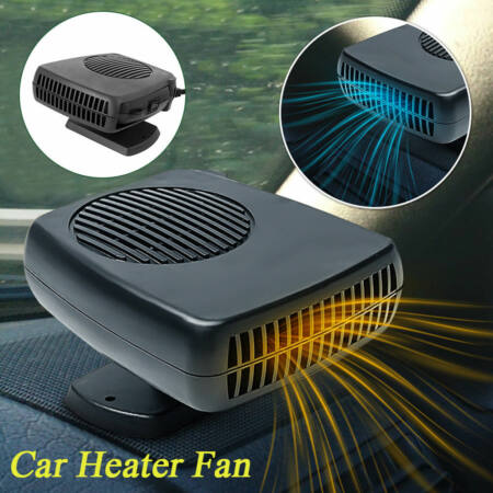 Autós hűtő-fűtő ventilátor és páramentesítő.  Hőmérséklet-szabályozással