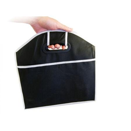 Többrekeszes csomagtartó rendező - Fekete színben