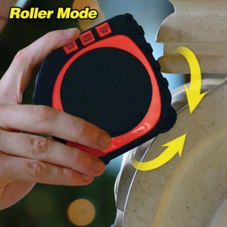 King Digitális LED kijelzős lézeres mérőszalag