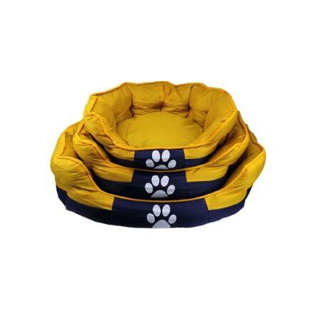 Tappancs kutyafekhely Sárga színben 50x40x25 cm
