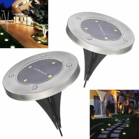 Solar Disk 4 darab multifunkcionális LED lámpa